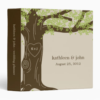 Oak Tree Personalized Binder