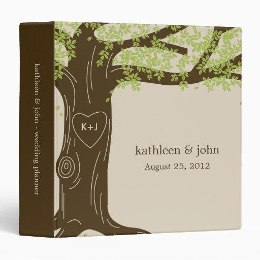 Oak Tree Personalized Binder