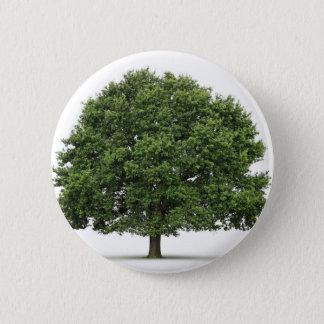 Oak Tree Pinback Button