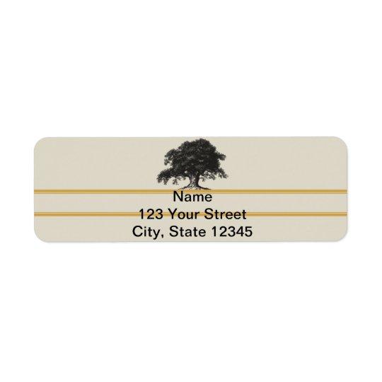 Oak Tree Plantation in Gold Label