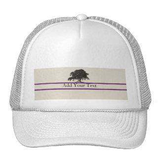 Oak Tree Plantation in Purple Trucker Hat