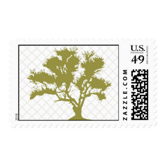 Oak Tree Postage Stamps