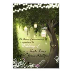 Enchanted Forest Invitations Announcements Zazzle