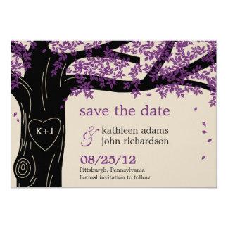 Oak Tree Save The Date Card