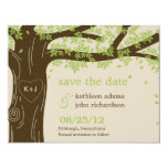 Oak Tree Save The Date Card Personalized Invitation