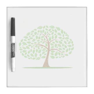 oak tree scribbled ecology design.png dry erase board