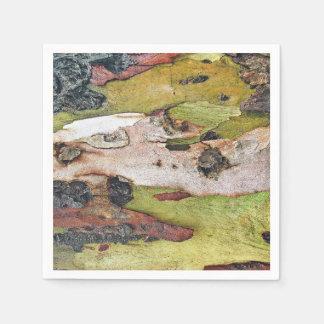 Oak Tree Skin Paper Napkin