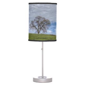 Oak Tree Solitaire Desk Lamp
