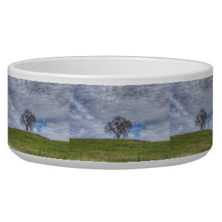 Oak Tree Solitaire Dog Food Bowls