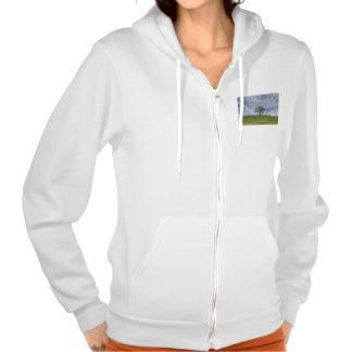 Oak Tree Solitaire Hooded Sweatshirts