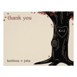 Oak Tree Thank You Card Personalized Announcement