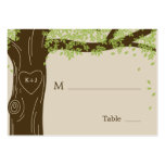 Oak Tree Wedding Flat Place Cards Business Card Templates