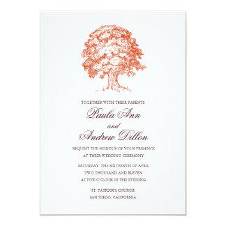 Oak Tree Wedding Invitation