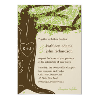 Oak Tree Wedding Invitations & Announcements | Zazzle
