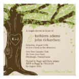 Oak Tree Wedding Shower Invitation