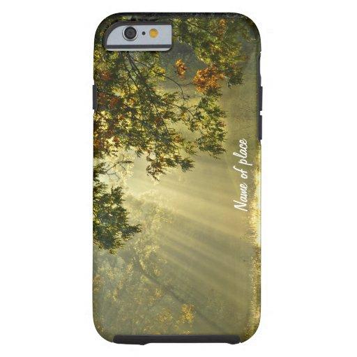 Oak Tree with Morning Sunbeams iPhone 6 Case