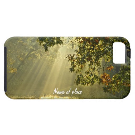 Oak Tree with Morning Sunbeams iPhone 5 Cover