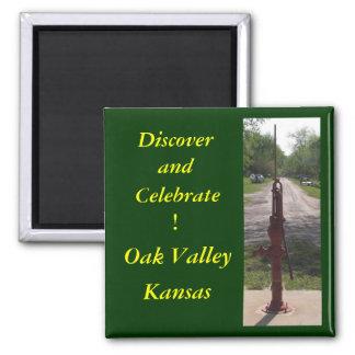 Oak Valley Refrigerator Magnet