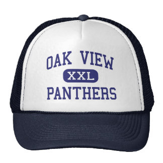 Oak View Panthers Middle Newberry Florida Trucker Hat