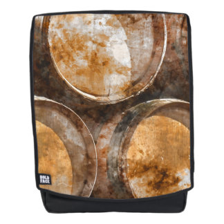 Oak Wine Barrel Backpack