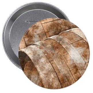 Oak Wine Barrel Button