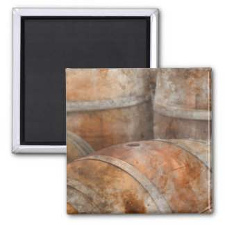 Oak Wine Barrel Magnet