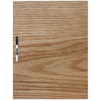 Oak Wood Grain Look Dry-Erase Board