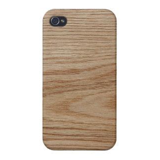 Oak Wood Grain Look iPhone 4 Case