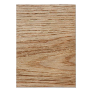 Oak Wood Grain Look Magnetic Card