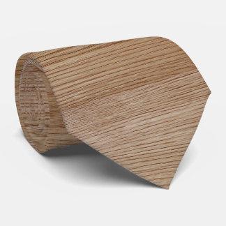 Oak Wood Grain Look Neck Tie