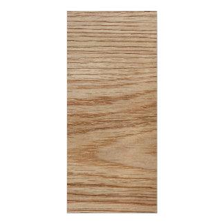 Oak Wood Grain Look Magnetic Invitations