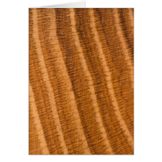 Oak Wood Grain Pattern-cardcopy Card