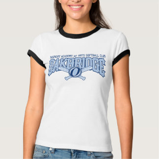 Oakbridge Softball Ladies Ringer T T-Shirt