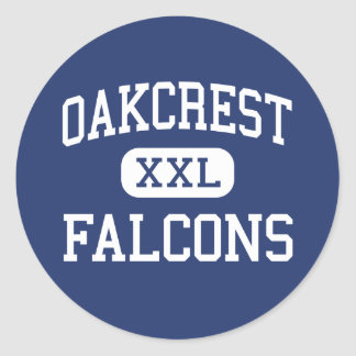 Oakcrest - Falcons - High - Mays Landing Classic Round Sticker