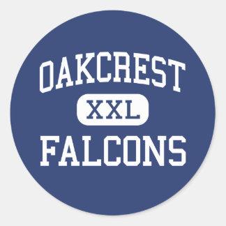Oakcrest - Falcons - High - Mays Landing Classic Round Sticker