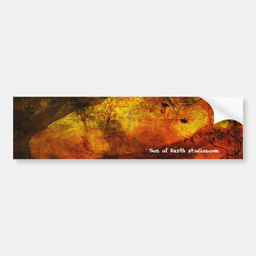 Oaken Car Bumper Sticker