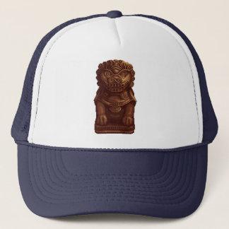 Oaken Lion Dog Pixel Art Trucker Hat