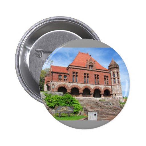 Oakes Ames Hall ~ button