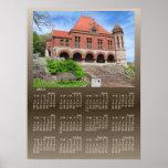 Oakes Ames Hall calendar ~ print