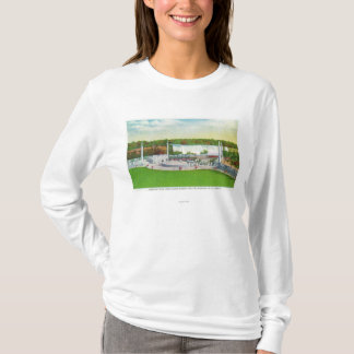 Oakes Garden Theatre View of American Falls T-Shirt