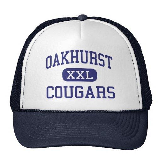 Oakhurst - Cougars - Junior - Clarksdale Trucker Hat
