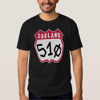 Oakland (510) -- T-Shirt