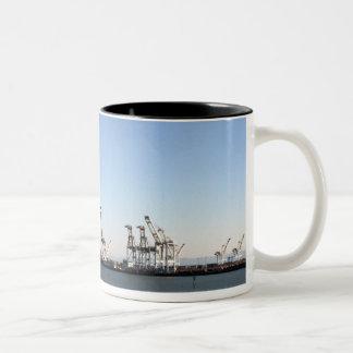 Oakland AT-AT Invasion Two-Tone Coffee Mug