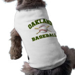 OAKLAND BASEBALL DOG CLOTHING