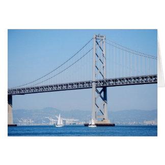 Oakland Bay Bridge Card