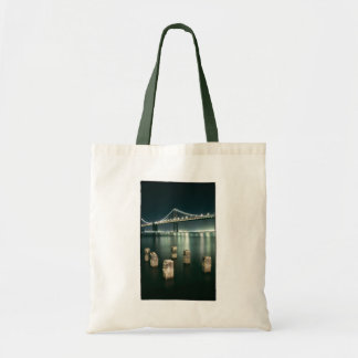 Oakland Bay Bridge @ Night Tote Bag