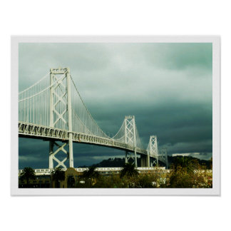 Oakland Bay Bridge San Francisco Print