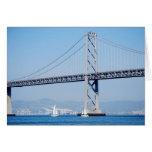 Oakland Bay Bridge Stationery Note Card