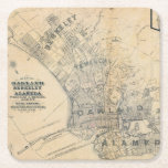 "Oakland, Berkeley, Alameda Square Paper Coaster<br><div class=""desc"">Oakland,  Berkeley,  Alameda. By King,  M. G. (Malcolm G); William J. Dingee (188). Published by &#39;&#39;Oakland: William J. Dingee&quot;.</div>"