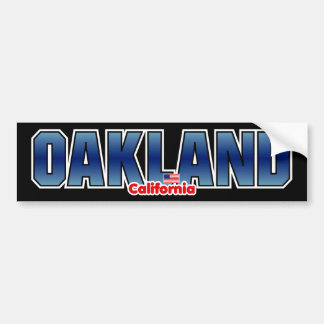Oakland Bumper Bumper Sticker